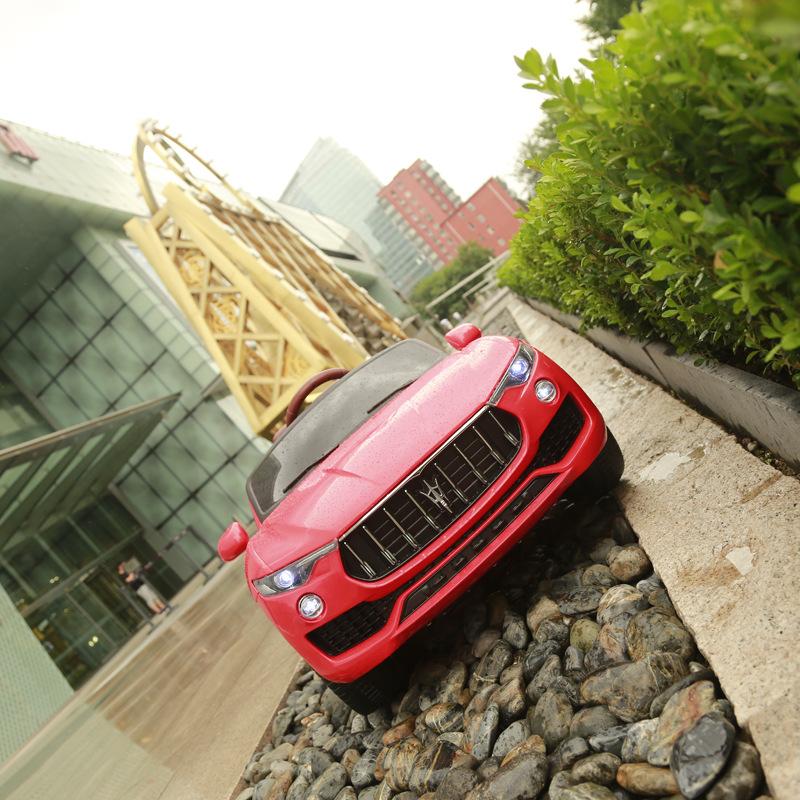 Phần đầu xe ô tô điện trẻ em Kupai 2021 nổi bật sang trọng thu hút bé yêu