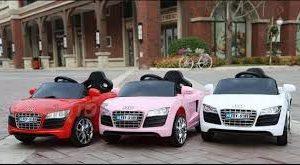 Xe ô tô điện trẻ em FEY 5189có 3 màu trắng - hồng - đỏ