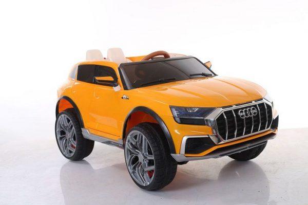 Xe ô tô điện trẻ em JM 2088 màu Vàng cam