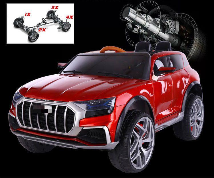 Xe ô tô điện cho bé Audi JM 2088 trang bị đến 5 động cơ mạnh mẽ, ổn định