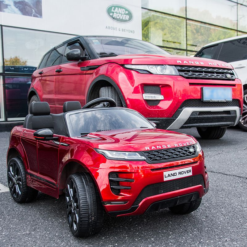 Xe ô tô điện trẻ em Land Rover DK-RRE99 là phiên bản thu nhỏ của mẫu xe Range Rover Evoque rất sang chảnh