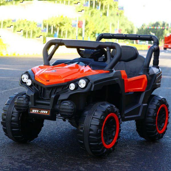 Xe ô tô điện đị hình trẻ em MDX A808 màu Đỏ