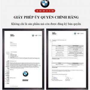 Giấy phép ủy quyền chính hãng được BMW phê duyệt sản xuất xe ô tô điện trẻ em BMW X5M 6661R