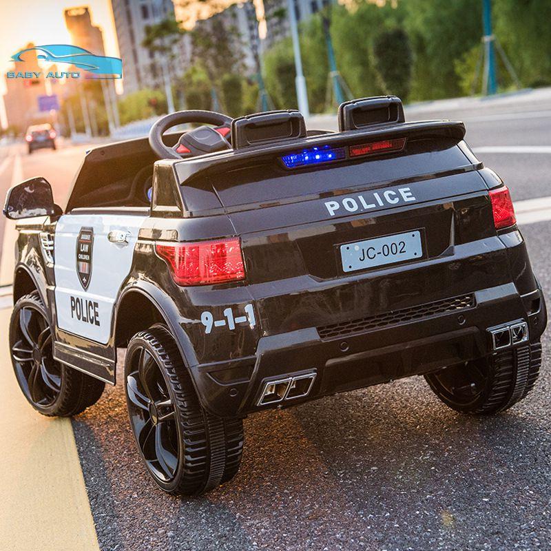 Đuôi xe ô tô điện cho bé cảnh sát JC 002