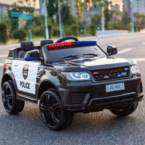 Xe ô tô điện trẻ em cảnh sát JC 002