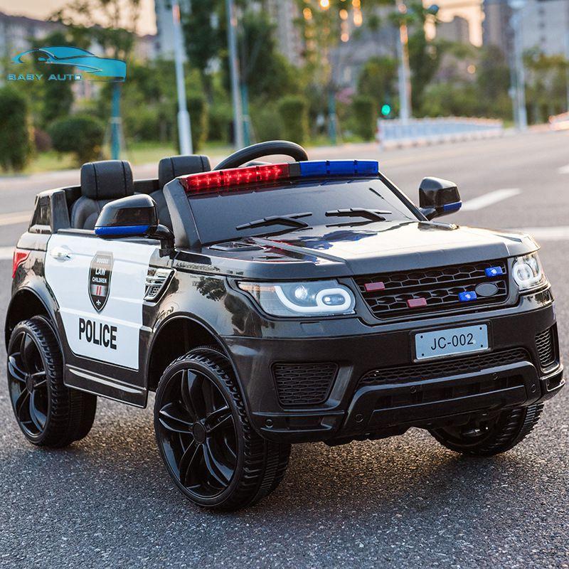 Xe ô tô điện trẻ em cảnh sát JC 002 ấn tượng sự khỏe khoắn mô phỏng như bản xe thật