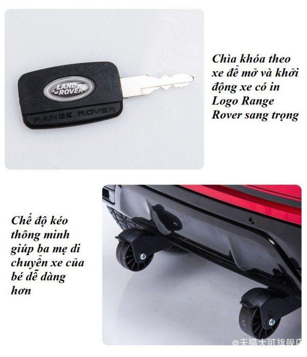 Ổ khóa và chế độ kéo xe thông minh tiện ích cho ba mẹ