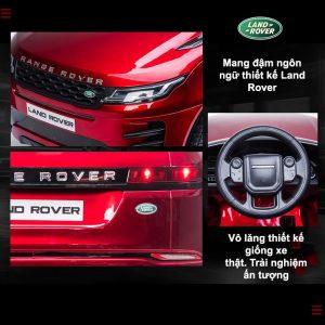 Thiết kế ân tượng của xe ô tô điện cho bé range rover