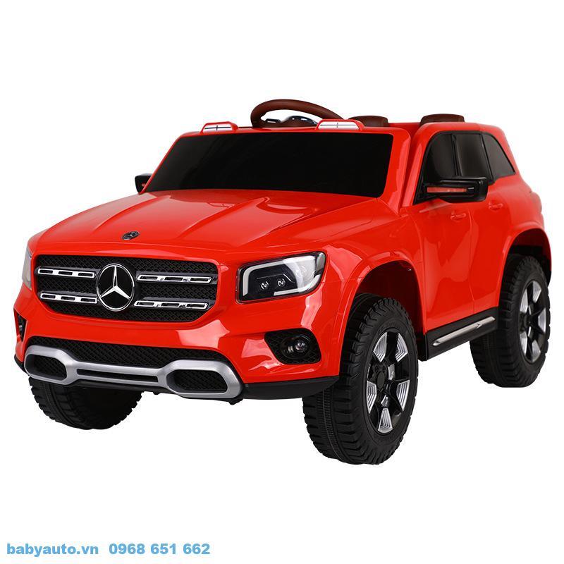 Xe ô tô điện trẻ em Mercedes GLB BDQ 1201 màu Đỏ