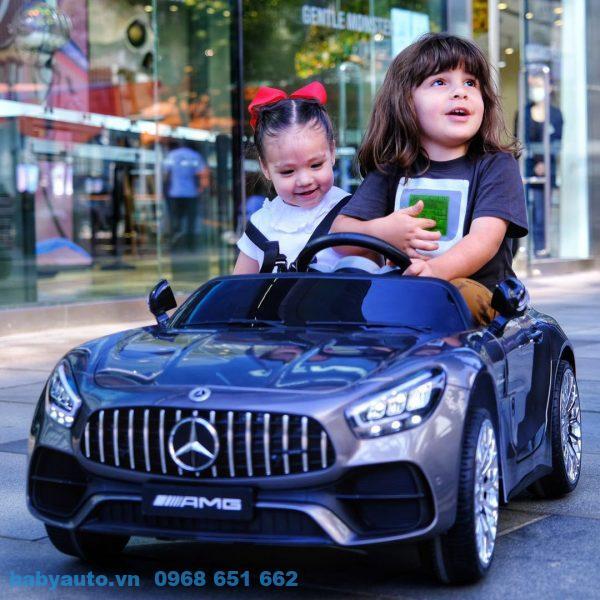 Xe ô tô điện trẻ em Mercedess MH 2588 Màu xám