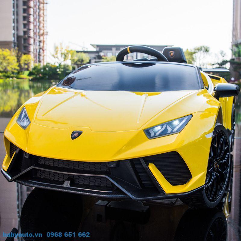 Xe ô tô điện trẻ em Lamborghini Huracan S308 siêu xe sang trọng, đẳng cấp cho bé yêu từ 1-4 tuổi