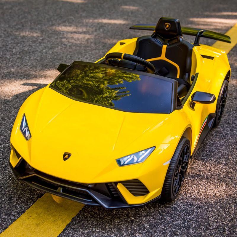 Xe ô tô điện trẻ em Lamborghini S308 - Siêu xe Huracan thu nhỏ cho bé yêu