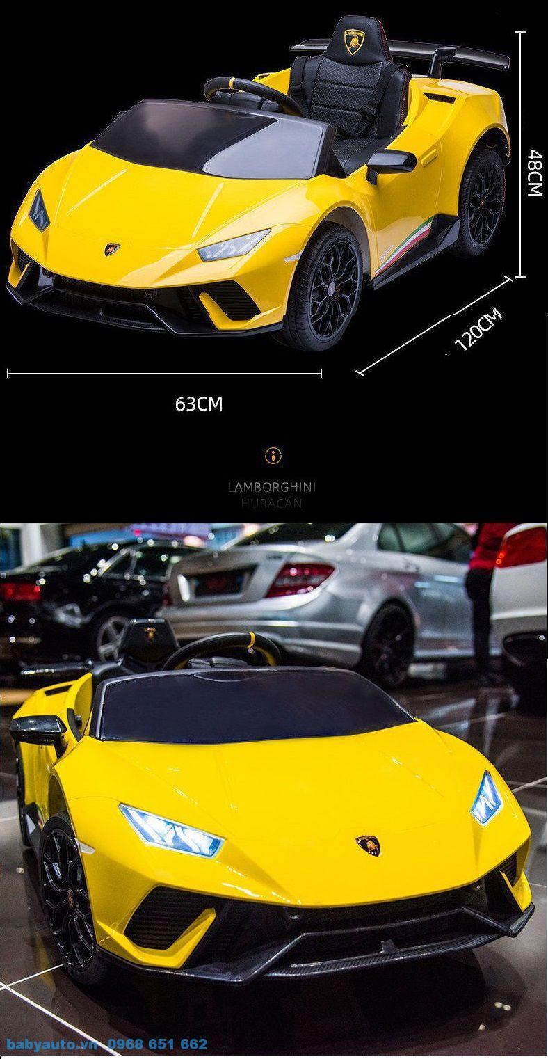 Thông số kỹ thuật của xe ô tô điện trẻ em Lamborghini S308